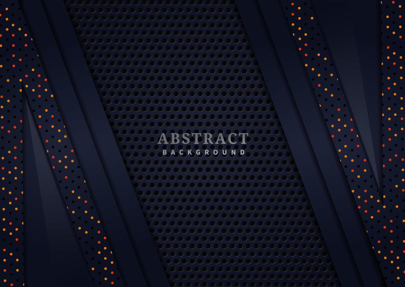 strukturierter abstrakter dunkler geschichteter Hintergrund mit Glitzerpunkten vektor