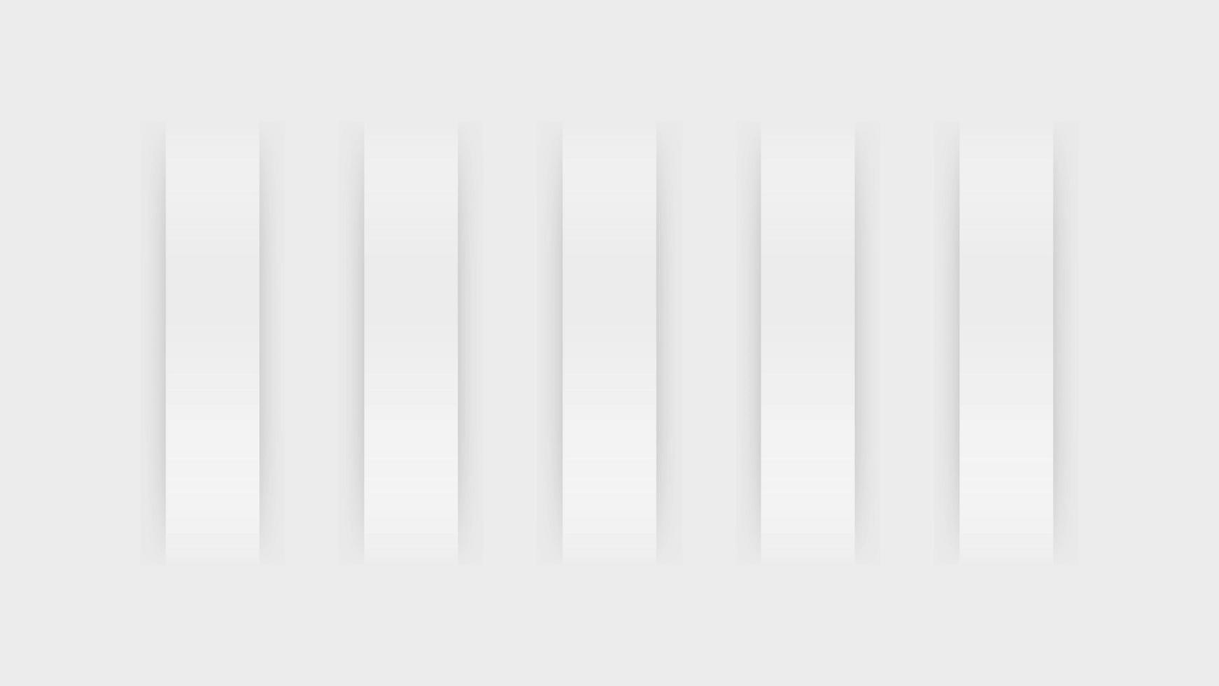 moderner weißer und grauer Rechteckhintergrund vektor