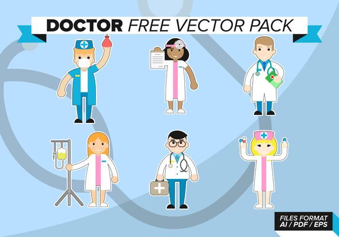 Doktor Gratis Vector Pack