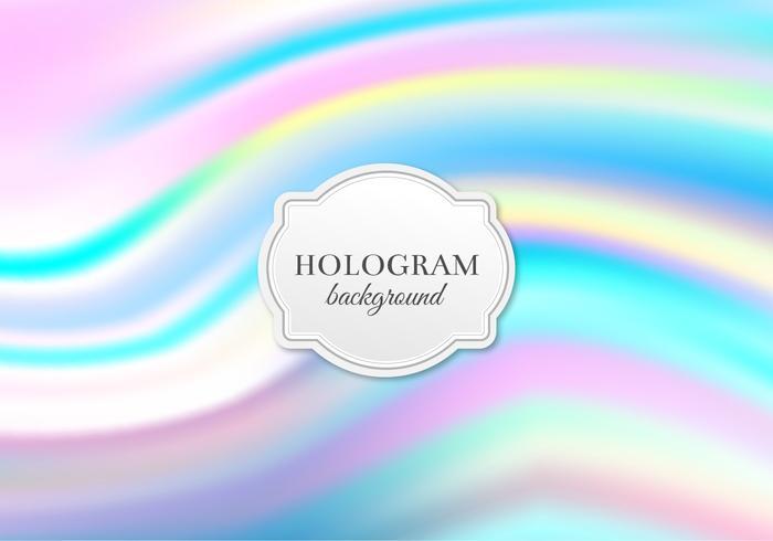 Free Vector Pastell Hologramm Hintergrund