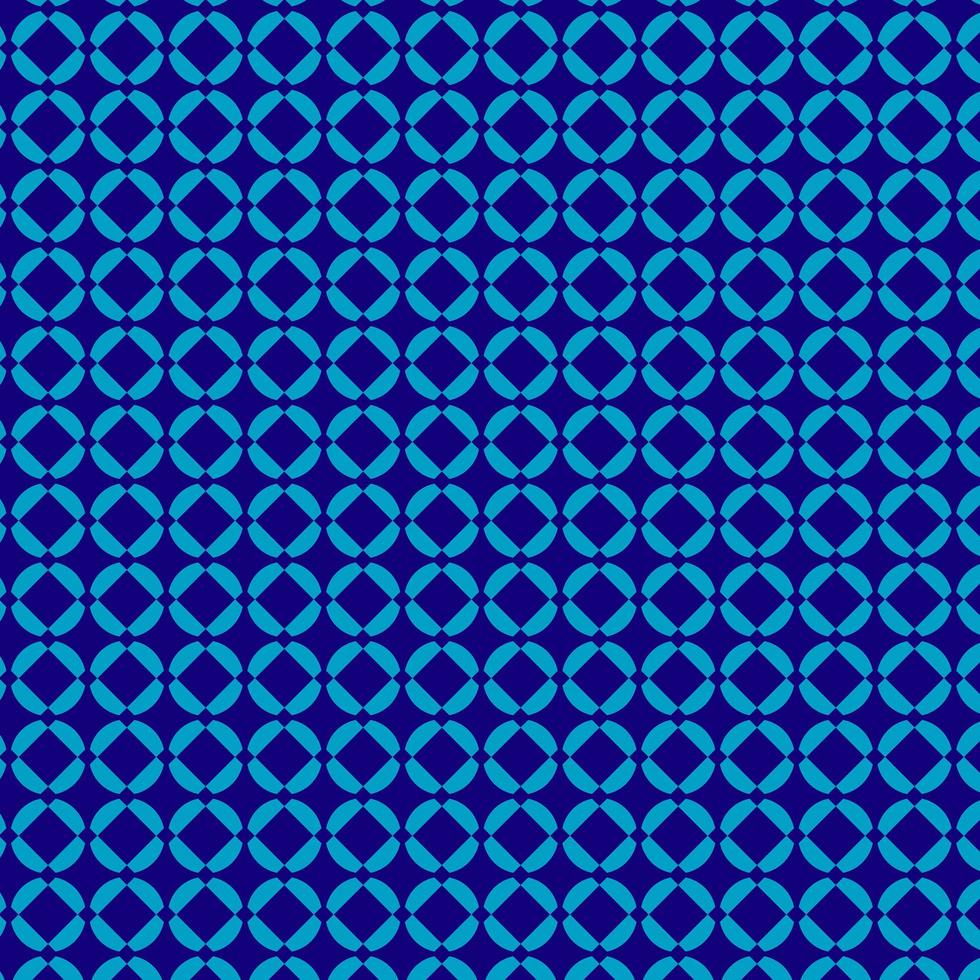 blå fin mönster designmall vektor