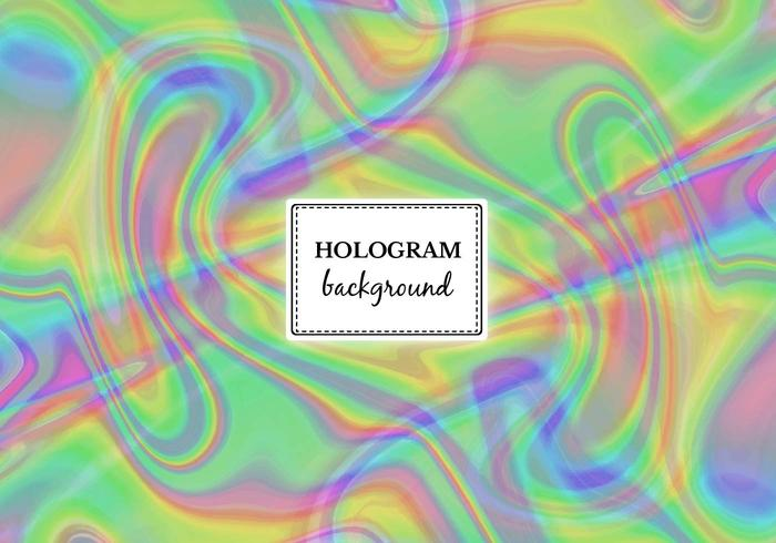 Gratis Vector Grön Marmor Hologram Bakgrund