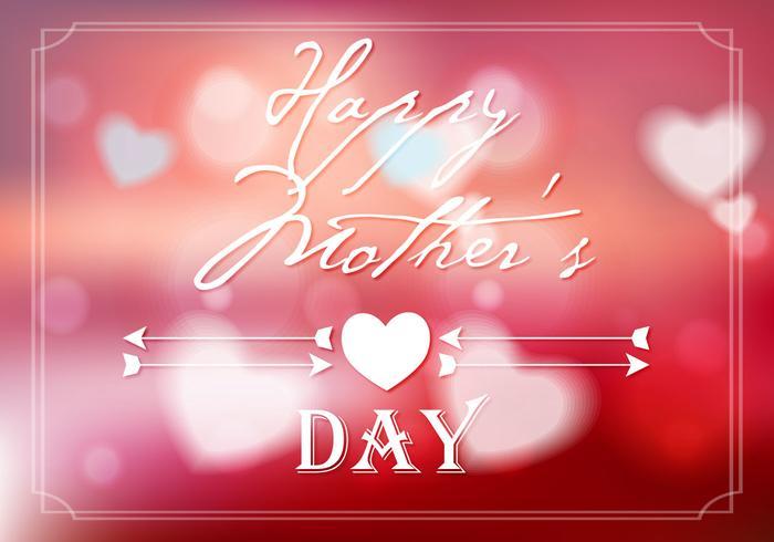 Freier Muttertag Hintergrund Vektor