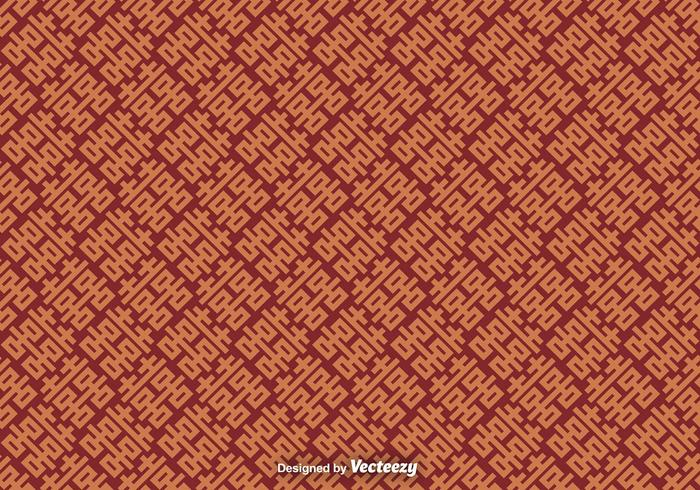 Vektor sömlösa mönster med dubbel lyckosymbol