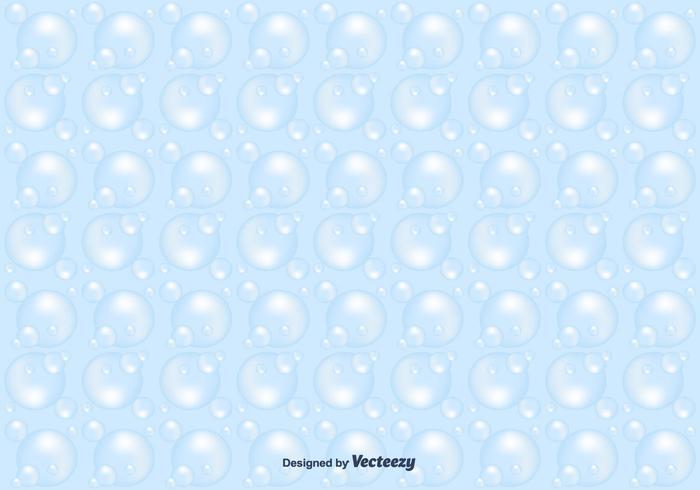 Seifenschaum-Vektor-Muster vektor