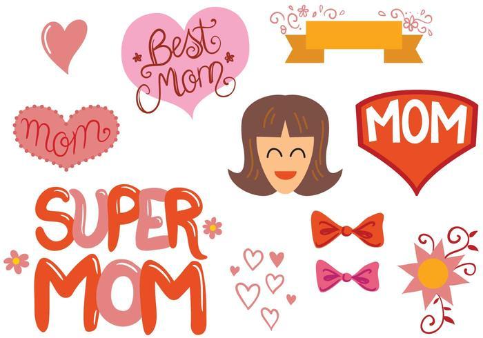 Kostenlose Mom-Vektoren vektor
