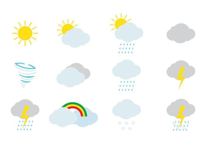 Wetter-Icon vektor