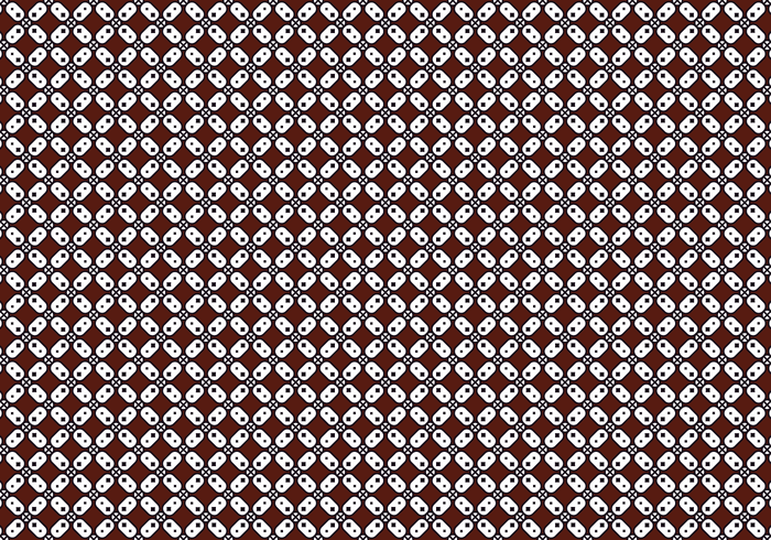 Free Batik Hintergrund Vektor