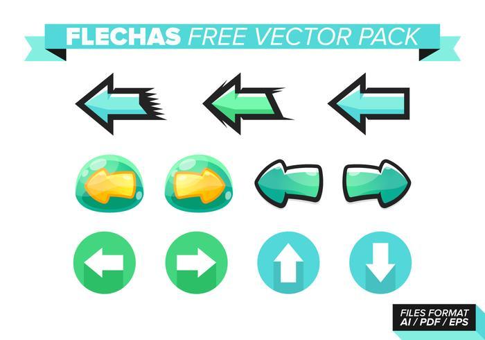 Flechas kostenlos vektor pack