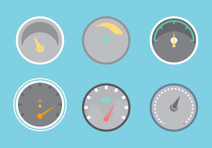 Free Tachometer Vektor Grafik 2