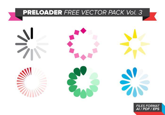 Preloader free vector pack vol. 3
