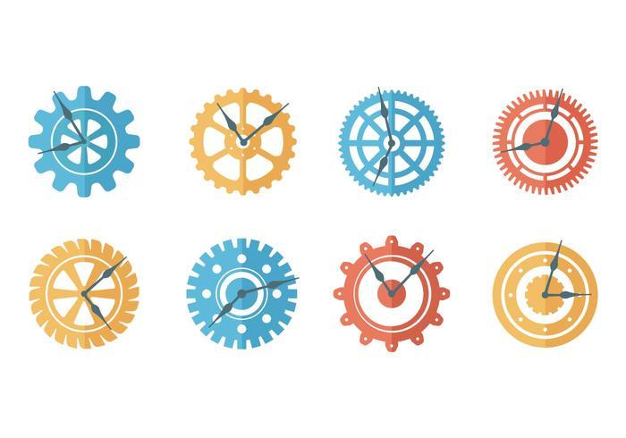 Freie Uhr Teile Vektor