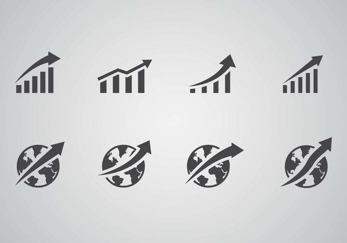 Freies Wachstum Geschäftsvektor vektor