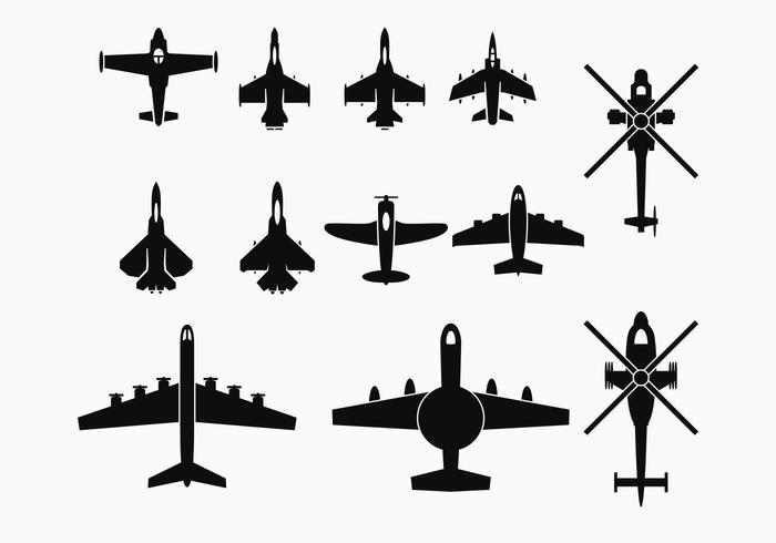 Freier Avion Vektor