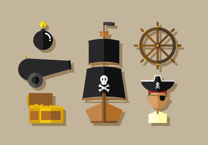 Vektor-Piraten vektor