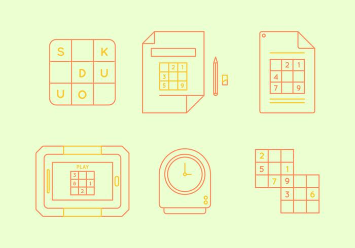 Freie Sudoku Vektor Grafik 3
