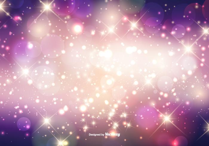 Vacker Sparkles Bakgrund vektor