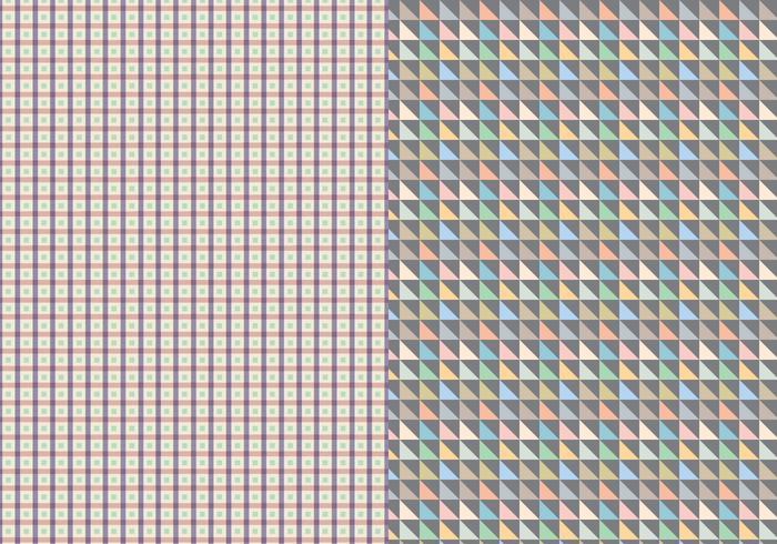 Dekorativt geometriskt mönster vektor