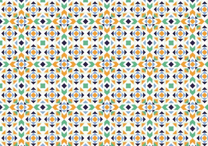 Abstraktes Mosaikmuster vektor
