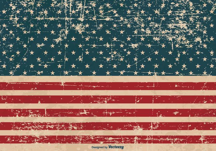 Patriotischer Grunge-Hintergrund vektor