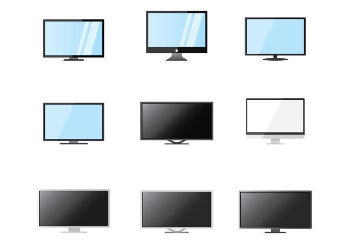 Free LED Bildschirm Vektor