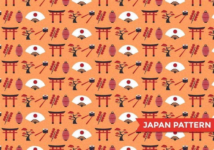 Japan Mönstervektor vektor