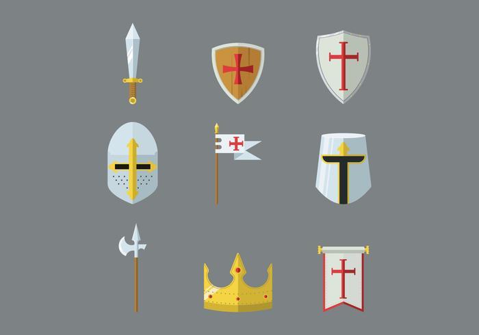 Kostenlos Templar Vektor