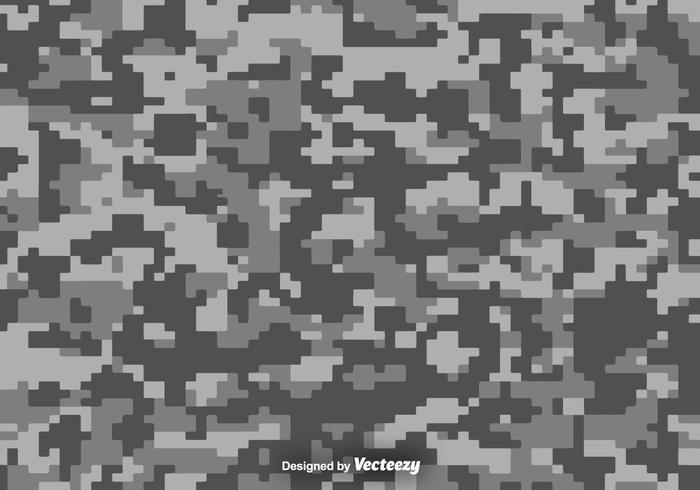 Pixelated Multicam Vector Camouflage Hintergrund