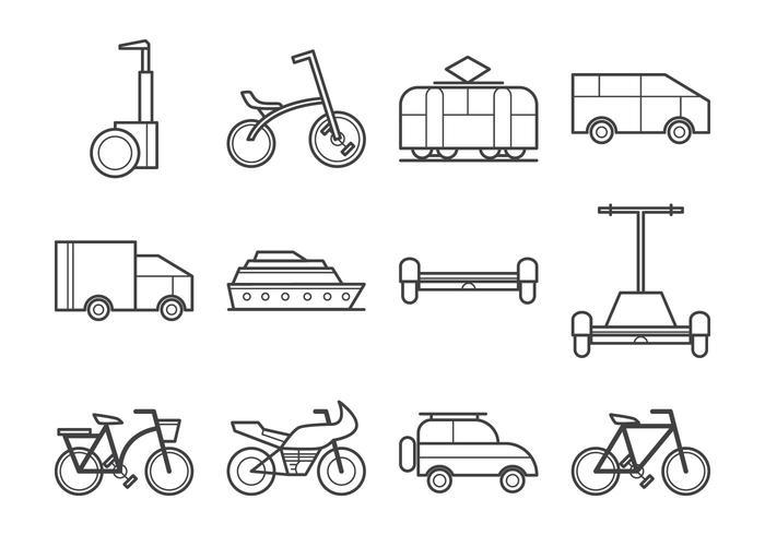 Free Transportation Icon Vektor