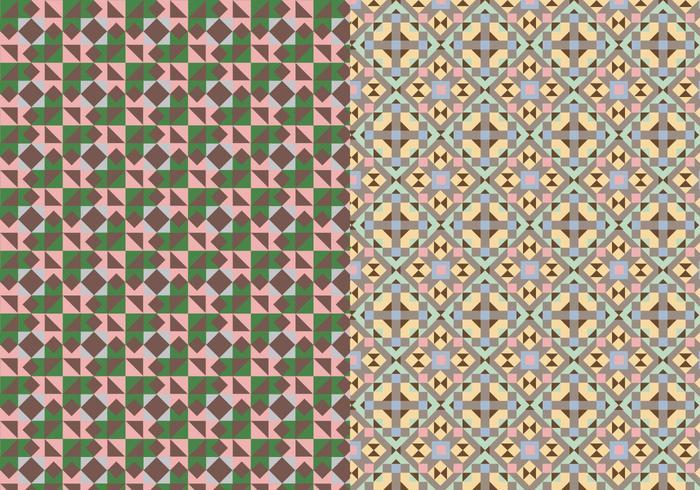 Mosaic Abstrakt Mönster vektor