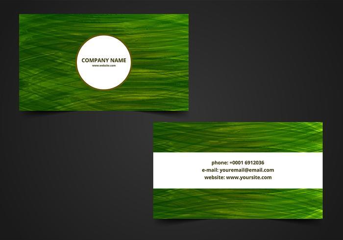 Free Vector Visiting Card Hintergrund