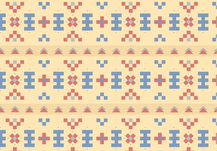 Native Pastell Muster Hintergrund vektor