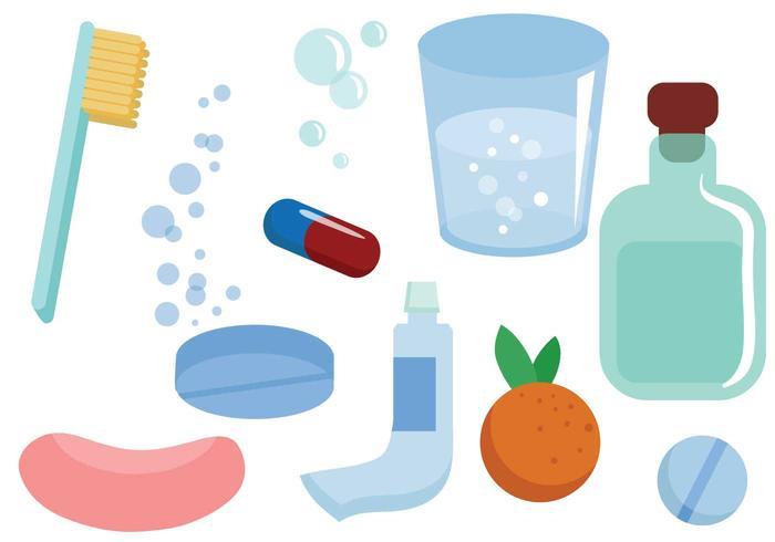 Kostenlose medizinische Hygiene Vektoren