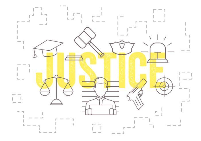 Vektor uppsättning av rättvisa ikoner