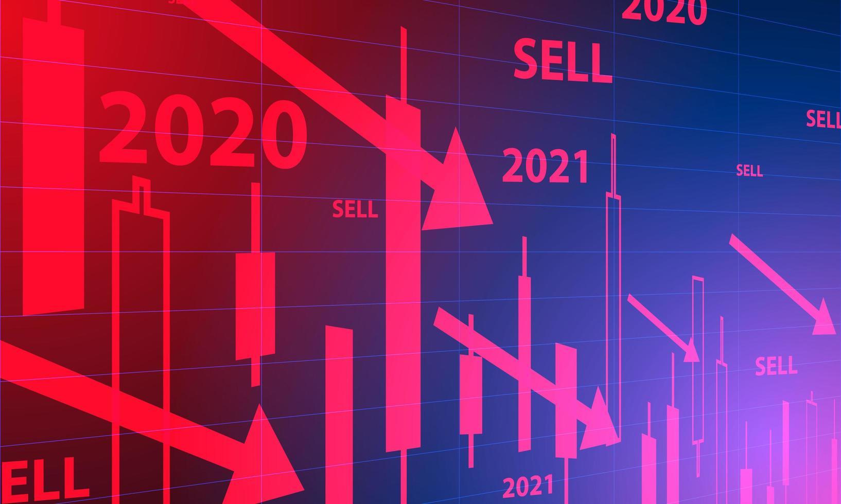 Börsenhintergrund vektor