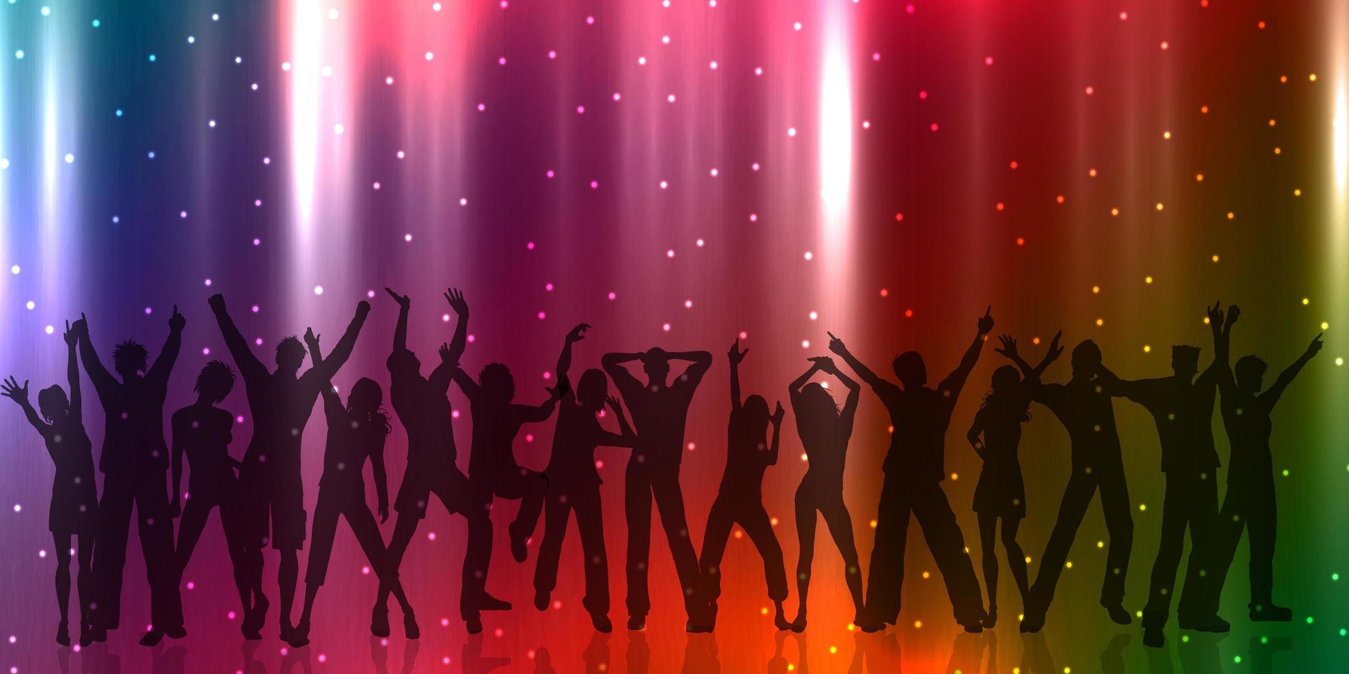 fest människor banner design vektor