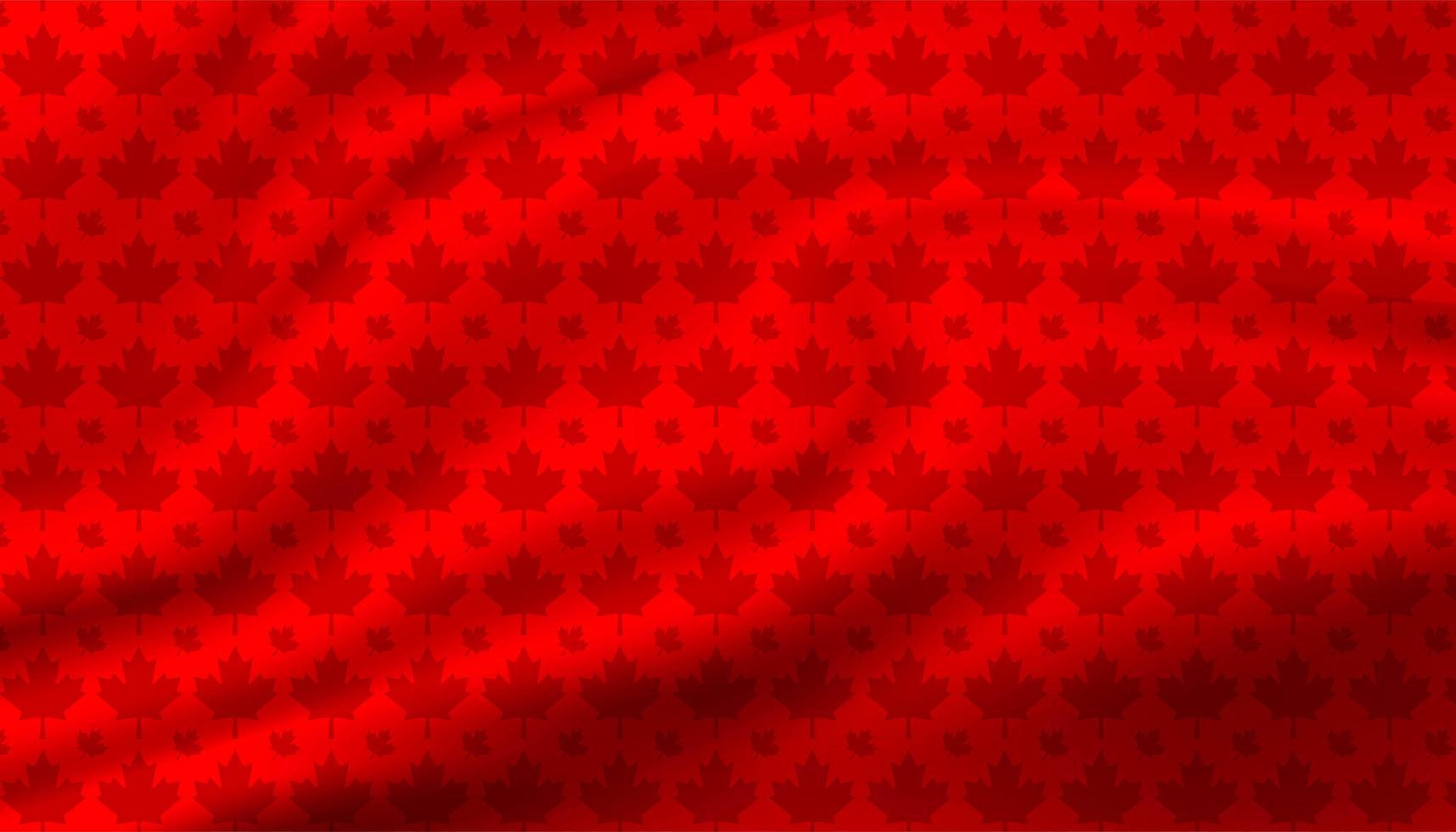 Kanada Ahornblatt Hintergrund vektor