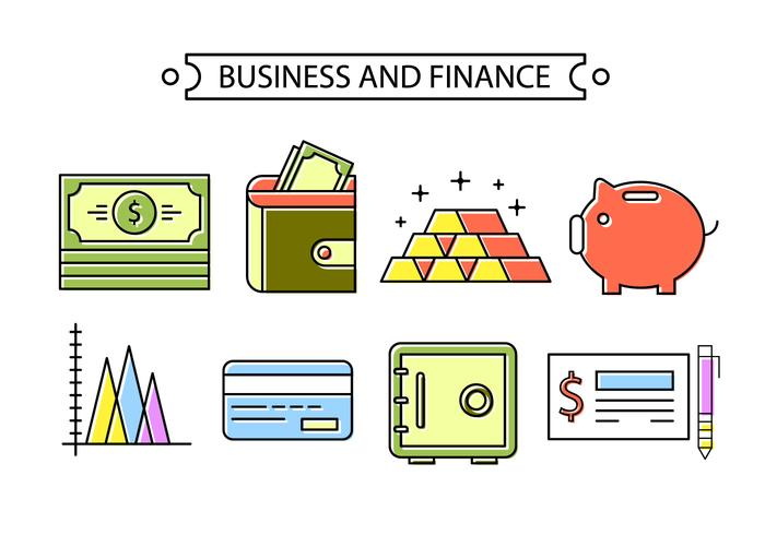 Banken und Finanzen vektor