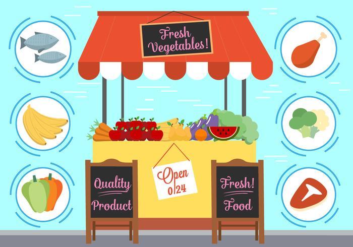 Free Vector Essen Und Elemente