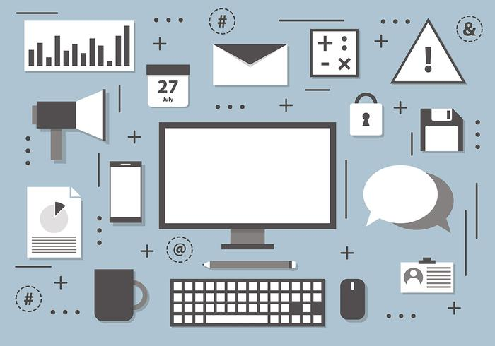 Free Digital Marketing Vektor
