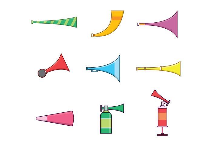 Gratis Horns & Trumpets Vector