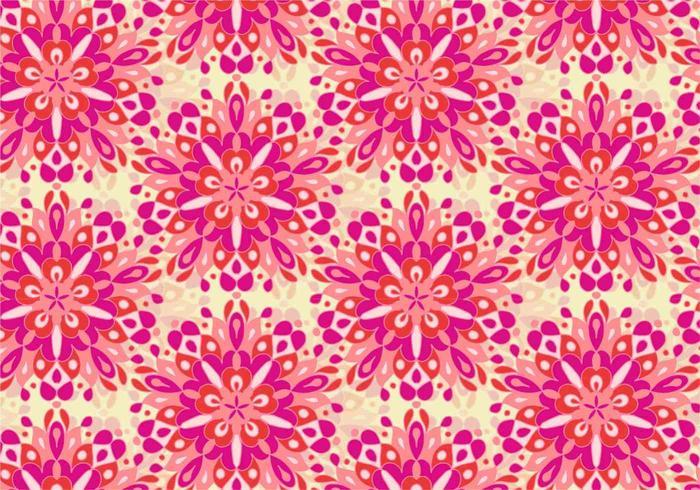 Free Vector Bunte Mandala Muster