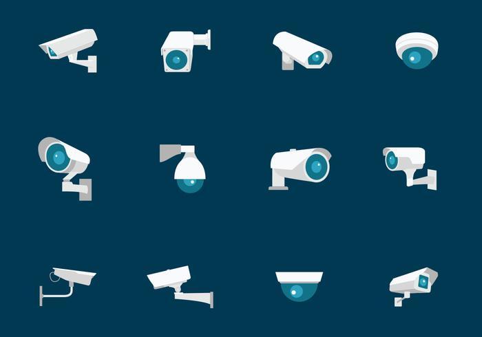 CCTV Säkerhetskamera vektor