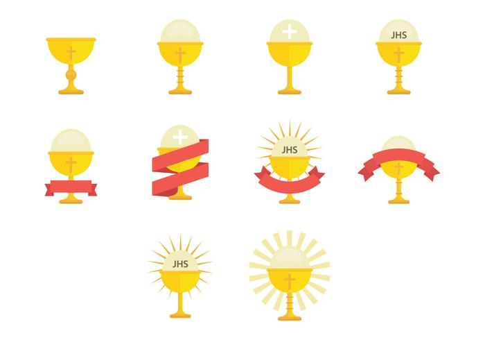 Eucharistisches Icon vektor