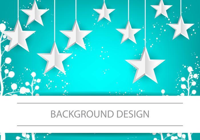 Infografische Design Sterne Hintergrund vektor