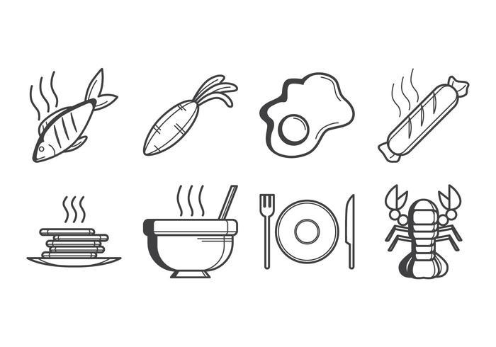 Free Food Icon Vektor