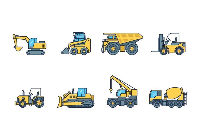 Gratis Heavy Machinery Icon vektor