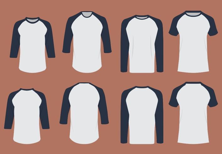 T-shirt Designmall vektor