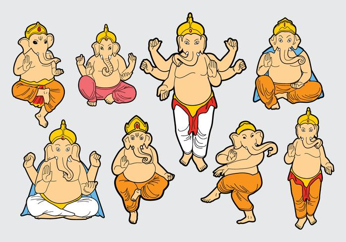 Gratis Ganesh Vector