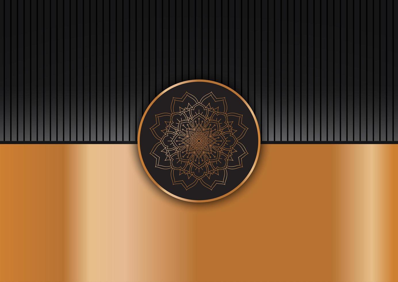 dekoratives elegantes Mandala vektor